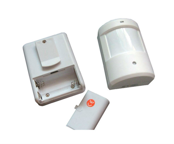 Wholesale-New Doorbell Wireless Home Door Window Motion Detector Burglar Entry Security Door Bell Alarm Chime Remote Detective System