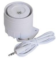 câblage d'alarme de voiture achat en gros de-Sirène de gros-fil, klaxon, sirène de voiture, alarme piézo-électrique, sirène piézo-électrique, sonnerie piézo-électrique, livraison gratuite