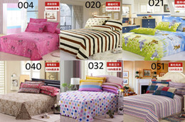 Wholesale Bedsheets Queen Size - Wholesale-Twin Full Queen size 100%Cotton Sheet Coverlid Bedclothes Bedspread coverlet BedSheets Bedding Purple Pink gray blue