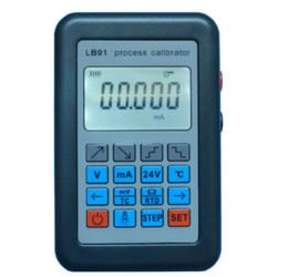 Wholesale Voltmeter Lcd - Wholesale-Update Resistance Current Voltmeter signal generator source Process calibrator 4-20mA 0-10V mV LCD display
