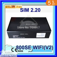 Wholesale Sunray Sim - Wholesale-2015new arrival dm 800se wifi v2 sim 2.20 card 1GB Flash 512MB RAM sunray 800 hd se BCM 4505 tuner free shipping