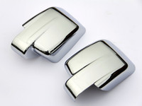 Wholesale Side Door Mirror Covers - Wholesale-Accessories FIT FOR 2007-2011 DODGE NITRO DOOR SIDE WING MIRROR CHROME COVER CREAR VIEW TRIM