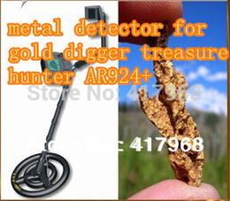 2019 bodensuche metalldetektor Wholesale-Wiederaufladbare AR924 + unterirdischen Metalldetektor für Goldgräber Schatzjäger