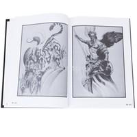 Wholesale Tattoo Supplies Books Flashes - Wholesale-New 2015 Brand New Tattoo Supplies Reference Book Picture Instruction Sheet Flash Art European Figure