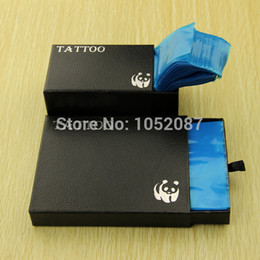 Wholesale Tattoo Clip Covers - Wholesale-2015 NEW Safety Disposable Hygiene 100pcs Tattoo Clip Cord Covers And 200Pcs Machine Bags Free Shipping