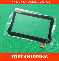 "$enCountryForm.capitalKeyWord Canada - Wholesale-Original New 7"" Clementoni myfirst Clempad Tablet touch screen panel Digitizer Glass Sensor FPC-TP070185(771)-01 Free"