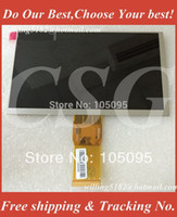 Wholesale Cube 7inch - Wholesale-10PCS Lot Original 7inch LCD Screen Panel 7300101463 E231732 HD 1024*600 LCD Screen Moniter for Tablet Cube U25GT 163*97mm