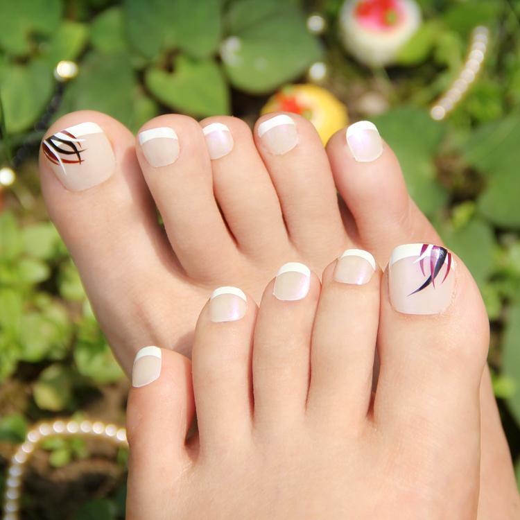 Wholesale Ink Bamboo False Toe Nail Art Display,Toe Nail Art ...