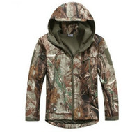 Wholesale Realtree Xl - Wholesale-2015 NEW Arrival Waterproof Realtree AP Camouflage Hunting Jacket Clothing,Fishing Hunting Camo Jacke