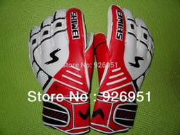 Wholesale Goalkeeper Glove Free Shipping - Wholesale-Free shipping Soccer Gloves Ailsports band finger goalkeeper full latex football goalkeeper breathable lungmoon