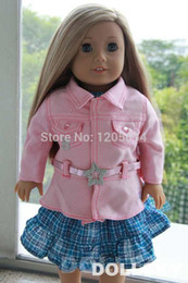 """Wholesale Doll Clothes Toy - Wholesale-Doll Clothes doll accessories,jeans jacket coat for 18""""inch American Girl wear american girl doll accessories free shipping"""