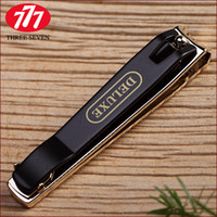 Wholesale N Nails - Wholesale-Gold plated 777 Large single finger nail clipper n-211gp finger plier