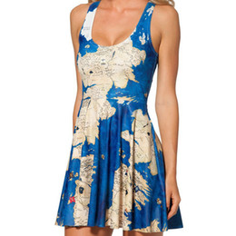 Wholesale Free Games Lines - Wholesale-Free shipping 2015 summer dress Australian design BLACK MILK skater dress Game of Thrones Westeros print dress for women