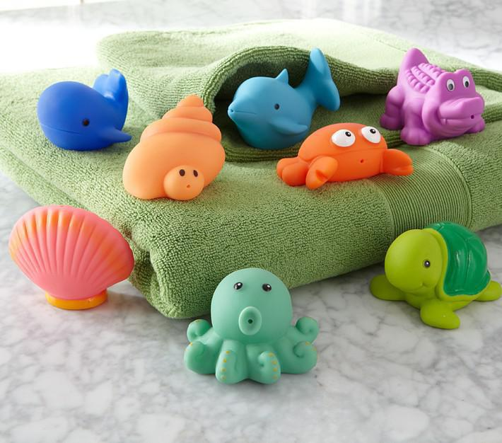 2018 Baby Bath Toys Water Spraying Toys Baby Water Toys Whale ...