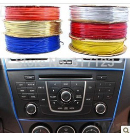 Wholesale Windows Mouldings - Wholesale-5M DIY FLEXIBLE TRIM FOR CAR INTERIOR EXTERIOR MOULDING STRIP DECORATIVE LINE