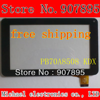 "Wholesale Dpt Digitizer - Wholesale-7"" 7inch capacitive touch panel touch screen digitizer glass for A10 A13 Tablet PC MID DPT 300 - N3803K - A00 - V1.0"