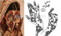 Wholesale painting stencil patterns for sale - Group buy new Popular of patterns Temporary Tatto Stencil Template Henna tattoo hands feet Painting Kit sexy girl