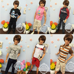 Wholesale Ken Doll Clothes Accessories - Wholesale-Free Shipping,5sets Dolls Clothing Sets for Barbie Ken,Clothes For Boyfriend Barbie Doll, Boy Nice Gifts Best Selling Wholesale