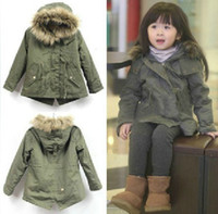 Girl original parka coat - original za children s girl fashion sweet cute winter uniform trench style down cotton padded jacket outercoat coat parkas
