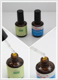 Wholesale Gradient Nail Polish - Wholesale-New Top Coat + Primer Base UV Gel Nail Art Polish Free Shipping #2