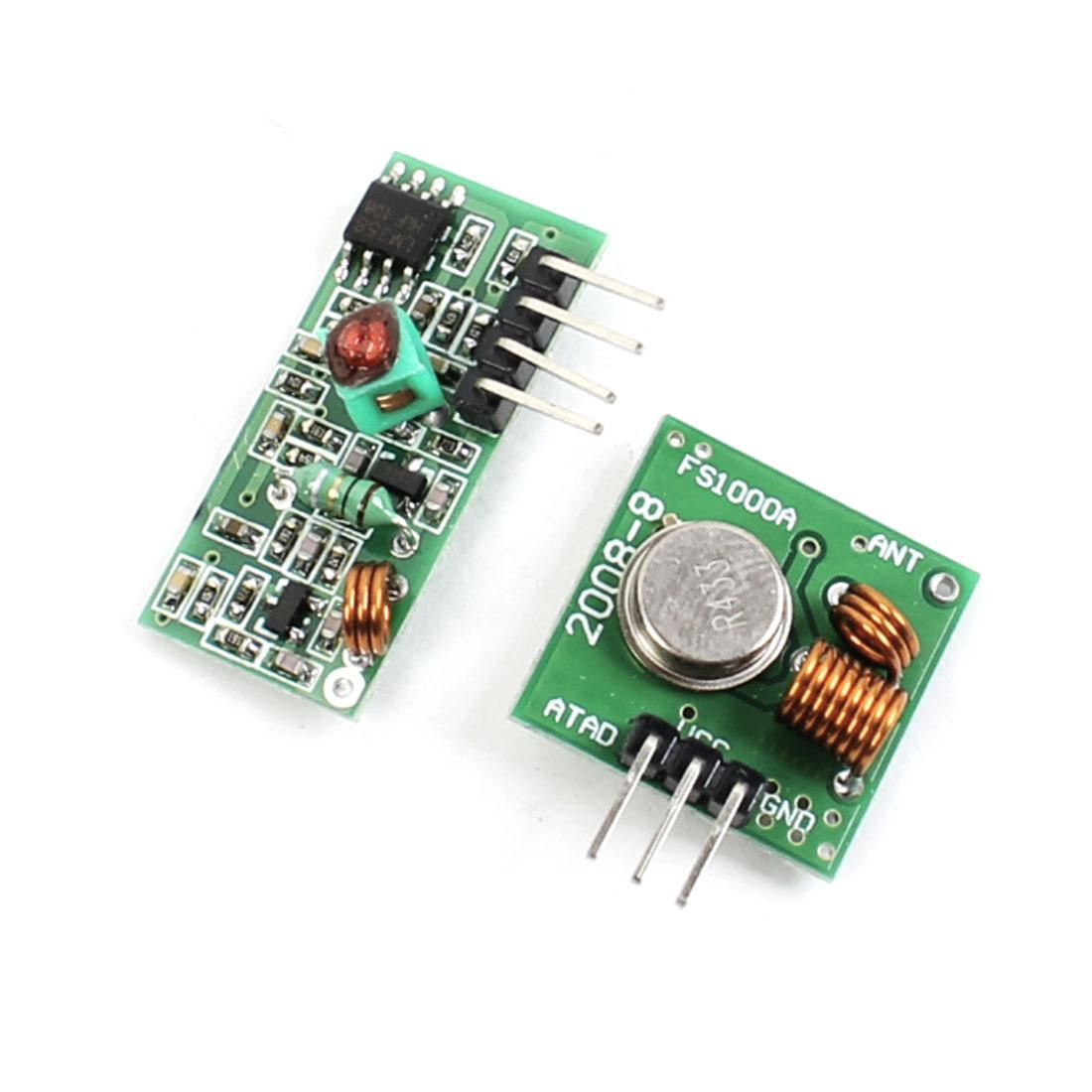 433mhz Rf Transmitter Receiver Arduino Supplier, Find