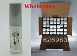 Wholesale Wholesale Glitter Glue - Wholesale-Wholesale 1BOX (35pcs,10ml pc) - Temporary Tattoo Gel Glue White Glue For Temporary Tattoo Body Art Glitter Tattoo-Free Shipping