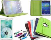 Wholesale Degree Rotating PU Leather Case Cover For Samsung Galaxy Tab quot inch T310 T311 T315 Tablet amp Film amp