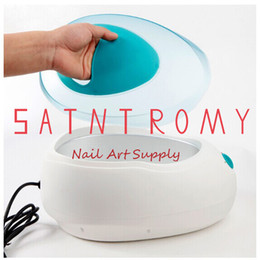 Wholesale Hands Paraffin Baths - Wholesale-SaintRomy Professional Supply Skin Wax Machine Salon Express Spa Warmer Machine Paraffin bath Hand Skin Care Nail Art Equipment