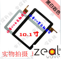 Wholesale Tablet Newpad - Wholesale-10.1 inch Tablet PC Newsmy V10 A12 NewPad V10 A12 NEWMAN A12 V10 QUAL Digitizer Touch Screen PB101A8495-T100-L Free Tracking