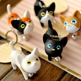 Wholesale Rings Kate - Wholesale-Doll key ring small cat kate cat keychain lovers key