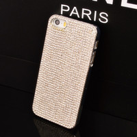 Großhandels-Luxus-Mode-Fall für iphone 6 5C 5 5s Samsung Galaxy S5 S4 S3 Mini-Note 2 3 Grand Duos i9082 voller Diamanten bling S4mini Abdeckung