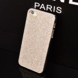 Wholesale Case S3 Diamonds - Wholesale-luxury fashion case for iphone 6 5C 5 5s samsung galaxy S5 S4 S3 mini note 2 3 grand duos i9082 full diamond bling S4mini cover