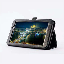 Wholesale Asus Pad Pen - Wholesale-Leather Cover Stand Tablet Case for Asus Memo Pad 7 ME70C ME70CX ME170C ME170CX 7 Inch Tablet + Screen Protector + Stylus Pen