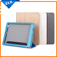 Wholesale Cube Tablet Cases - Wholesale-Original 9.7 Inch Cube T9 phone call Tablet PC Flip PU leather case cover for Cube tablets multi-color in stock
