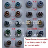 Wholesale Eyes Dolls Acrylic - Wholesale-18 Pairs 20mm HALF ROUND ACRYLIC REBORN DOLL EYES
