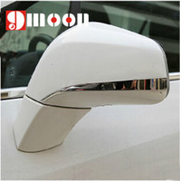 Wholesale Opel Mirror - Wholesale-Car stainless steel Rearview mirror rubbing strip 2pcs For Opel Mokka 2015-2015