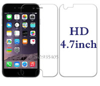 Wholesale Transparent Lcd For Sale - Wholesale-2 Pcs = 1 Pcs Front + 1 Pcs Back Full body Transparent Clear LCD Screen Protector Film for Apple iPhone 6 4.7 inch HOt sale