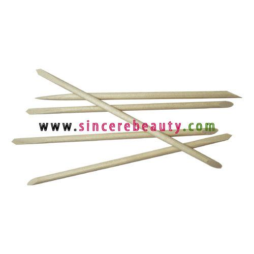 Wholesale-15cm wooden cuticle pusher