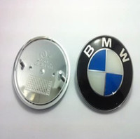 Wholesale Car 82mm - Wholesale-82MM FRONT HOOD REAR TRUNK BADGE ROUNDEL FOR m3 m5 X1 X3 X5 X6 E36 E39 E46 E30 E60 E92 Car Accessories styling