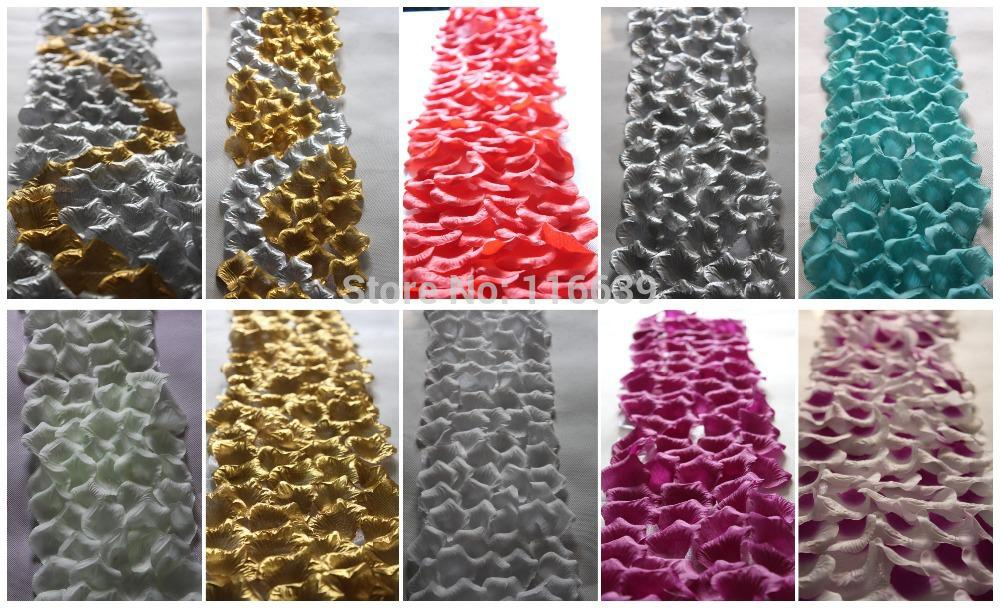 best wholesale wedding aisle runner with silk petal floral valley petal aisle runnerwedding petal ribbon6inch50ft pc under 6716 dhgatecom
