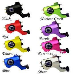 Wholesale Hot Tattoo Casting - Wholesale-Hot Sale -Professional New Rotary Bishop Tattoo Machine Gun Shader Liner 4 pcs lot