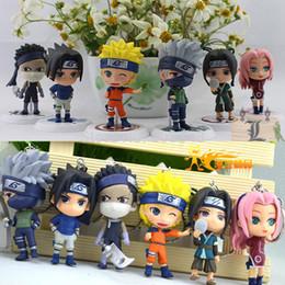 $enCountryForm.capitalKeyWord NZ - Wholesale-Good PVC Classic Anime Action Figure 18th Generation Naruto Shippuden Key Chain Boys' Gift Model Toy