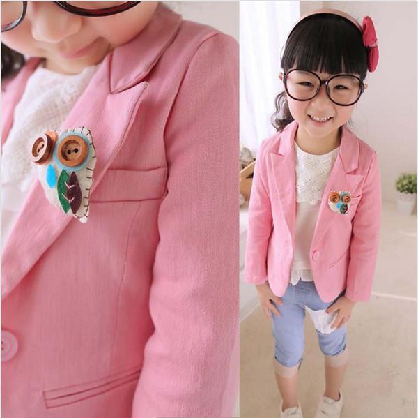 Wholesale Retail Fashion Children Girl Jackets Coat Spring Autumn