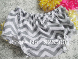 Wholesale Lace Bloomers For Toddlers - 6 colors for choose New girls Chevron ruffle pants lace diaper covers baby bloomers toddler panties for kids ruffled shorts