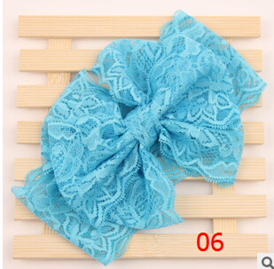 Discount Floppy Big Messy Bow Headband For Baby Head Wrap