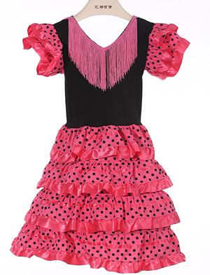 Pink Black dots
