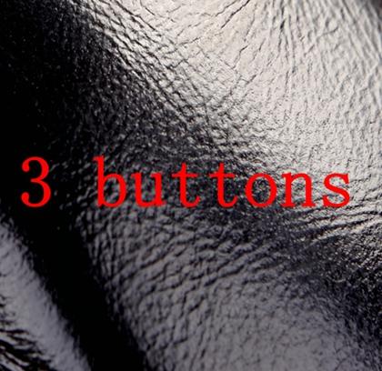 siyah 3 düğme