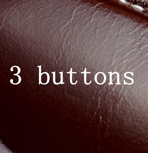 kahve 3 düğme