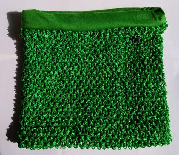 Verde superiore del tubo foderato