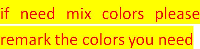 Pls opmerking de kleur